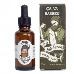 """Huile pour barbe """"à la Bûcheron"""" - 30 ml"""