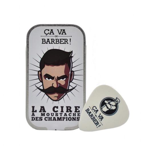 Cire à moustache des champions
