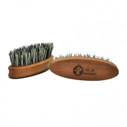 Brosse pour barbe en fibre de cactus