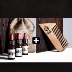 Pack découverte + peigne pour barbe