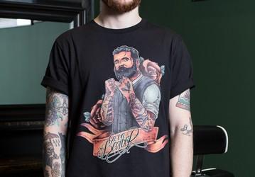 T-shirt à la régulière