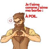 Joyeuse Saint Valentin les poilu(e)s ! ❤️ ⠀ En cadeau, une petite carte à envoyer à l'élu poilu de votre cœur 💘 ⠀ ⠀ #cavabarber #Lyon #barbe #barbu #huilepourbarbe #huileabarbe #saintvalentin #beard #bearded #coeur #apoil #cadeau #love